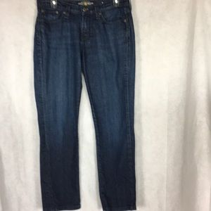 Lucky brand jeans Stark sweet and straight size 6